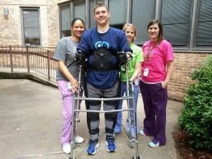Cole Sydnor exoskeleton