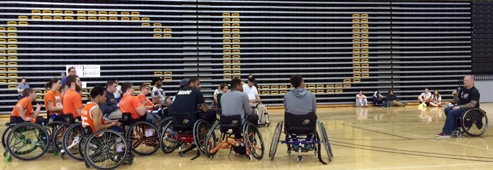 USAofVa Attends Sportable's Annual Paralympic Experience Day at VCU's Siegel Center